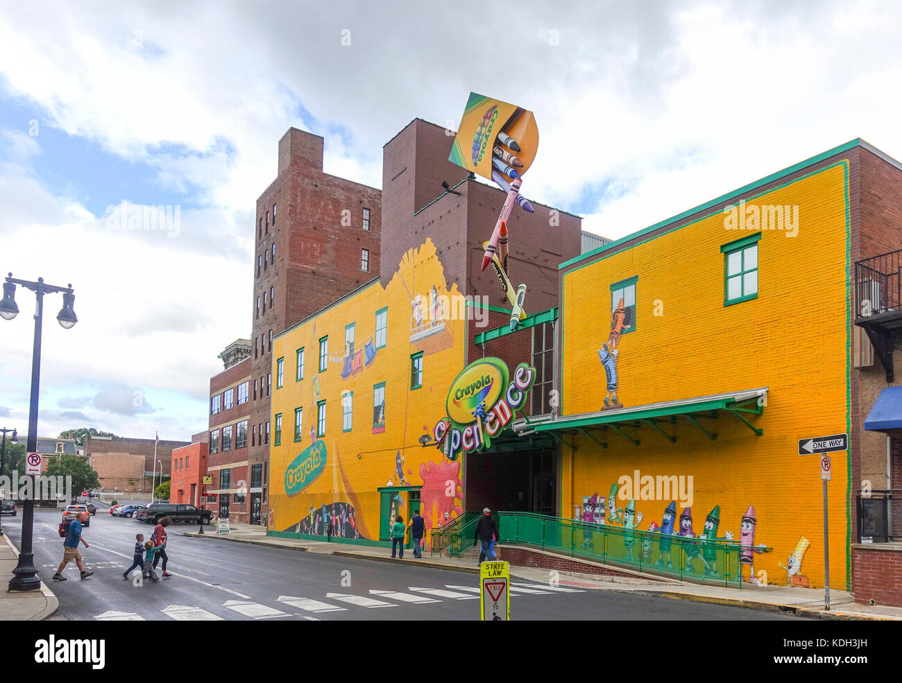 crayola experience attraction amusement for kids museum and stock