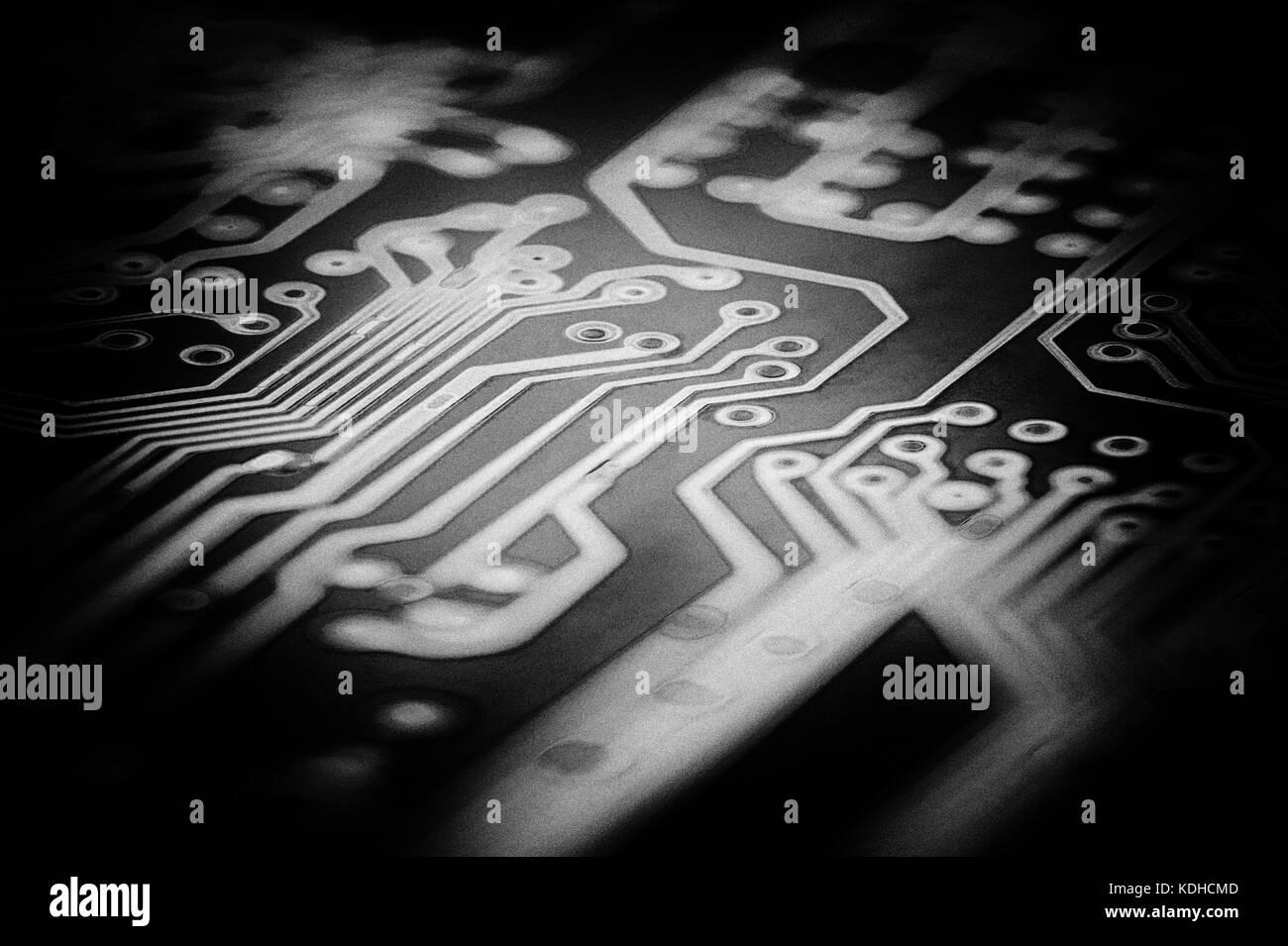 Computer Circuitry Stock Photo: 163267005 - Alamy