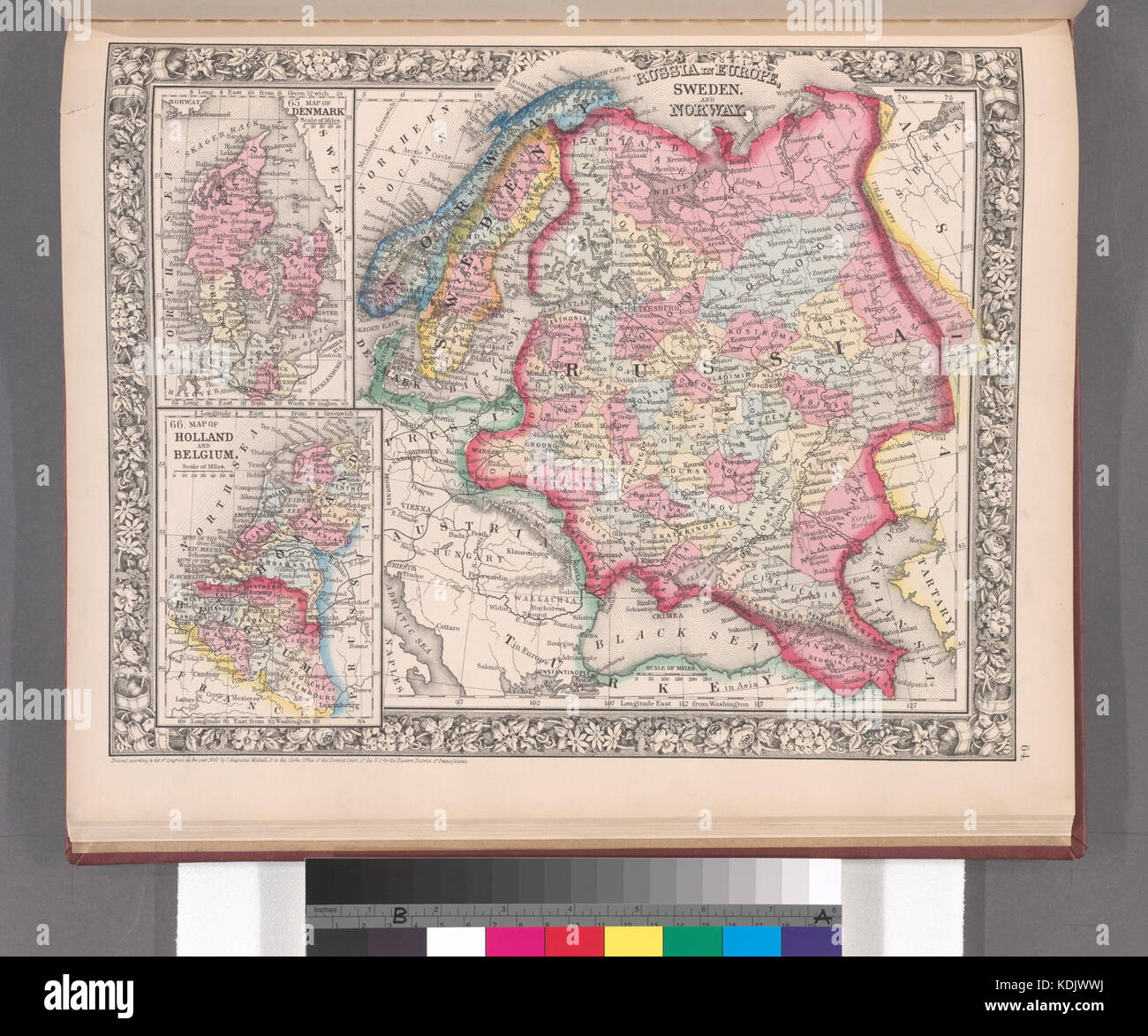 Russia In Europe Sweden And Norway Map Of Denmark Map Of - Sweden holland map