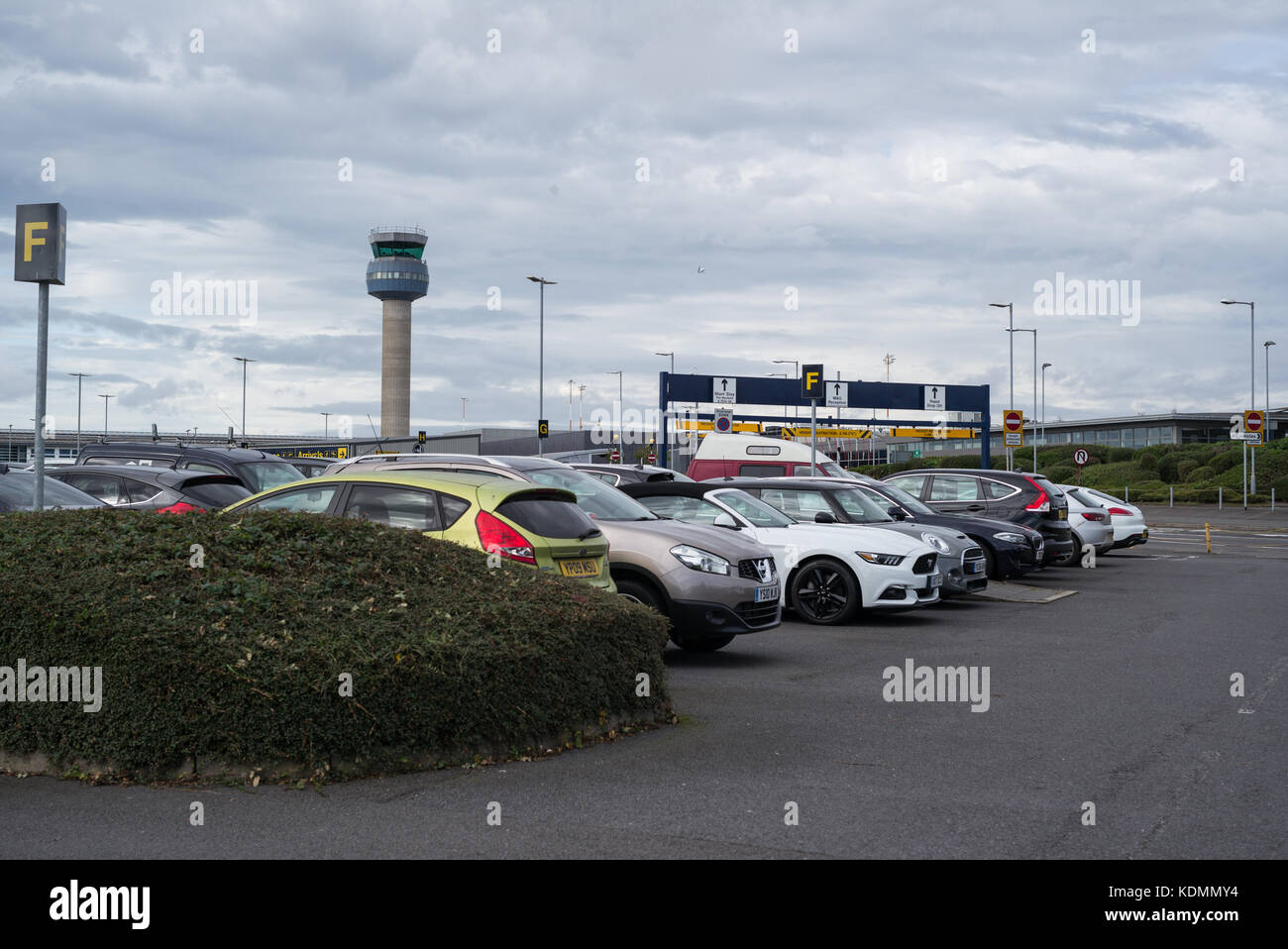Short stay parking stock photos short stay parking stock images short stay 1 car park at east midlands airport stock image kristyandbryce Images