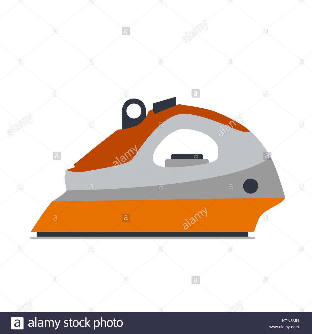 Steam Iron Icon ~ Press service stock vector images alamy