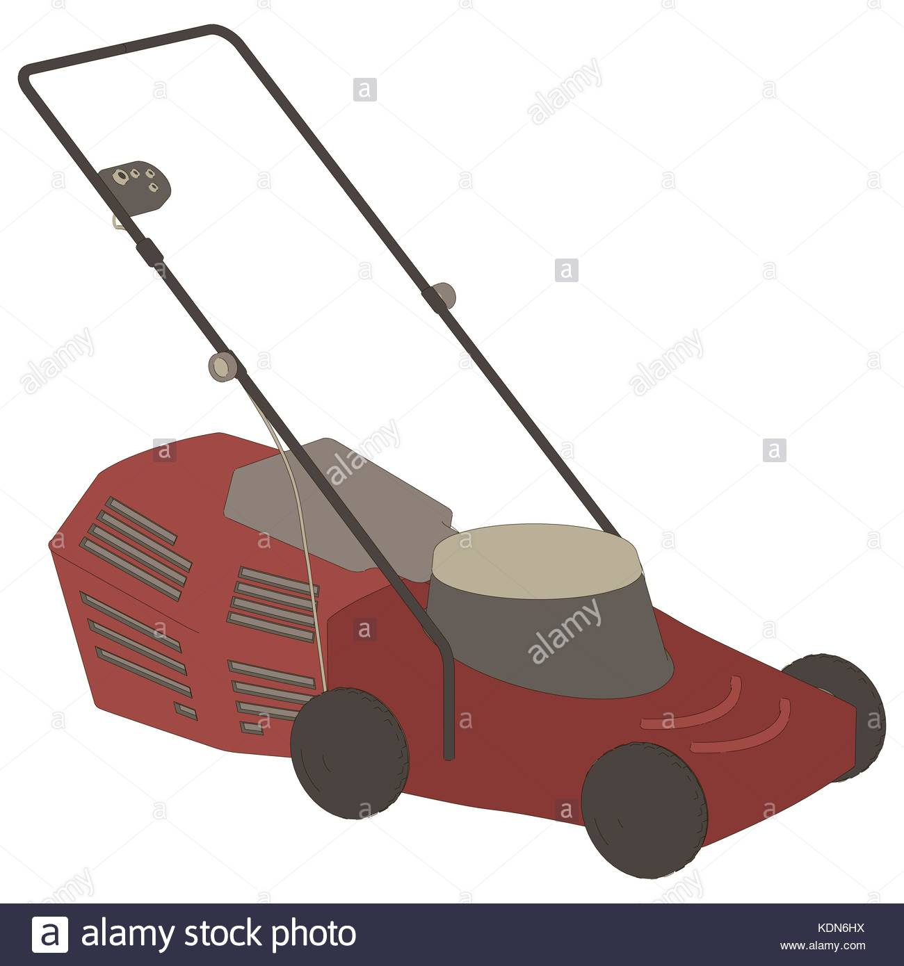 lawn mower vector - photo #24