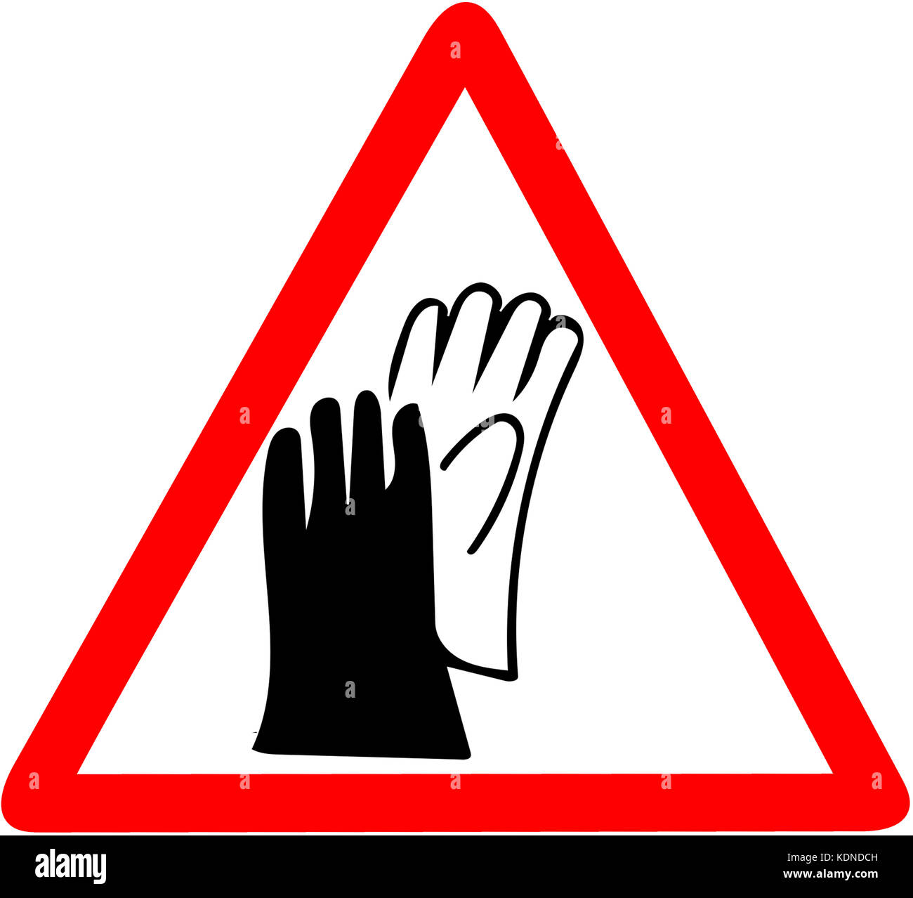 Factory work accident sign stock photos factory work accident safety sign wear gloves protection job security sign sure to wear hand protector biocorpaavc