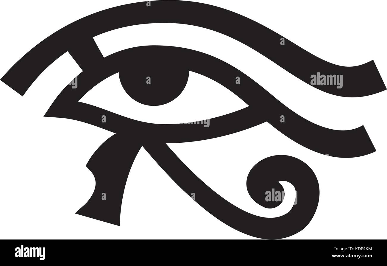 Horus Eye Wadjet Eye Of Ra Ancient Egyptian Hieroglyphic