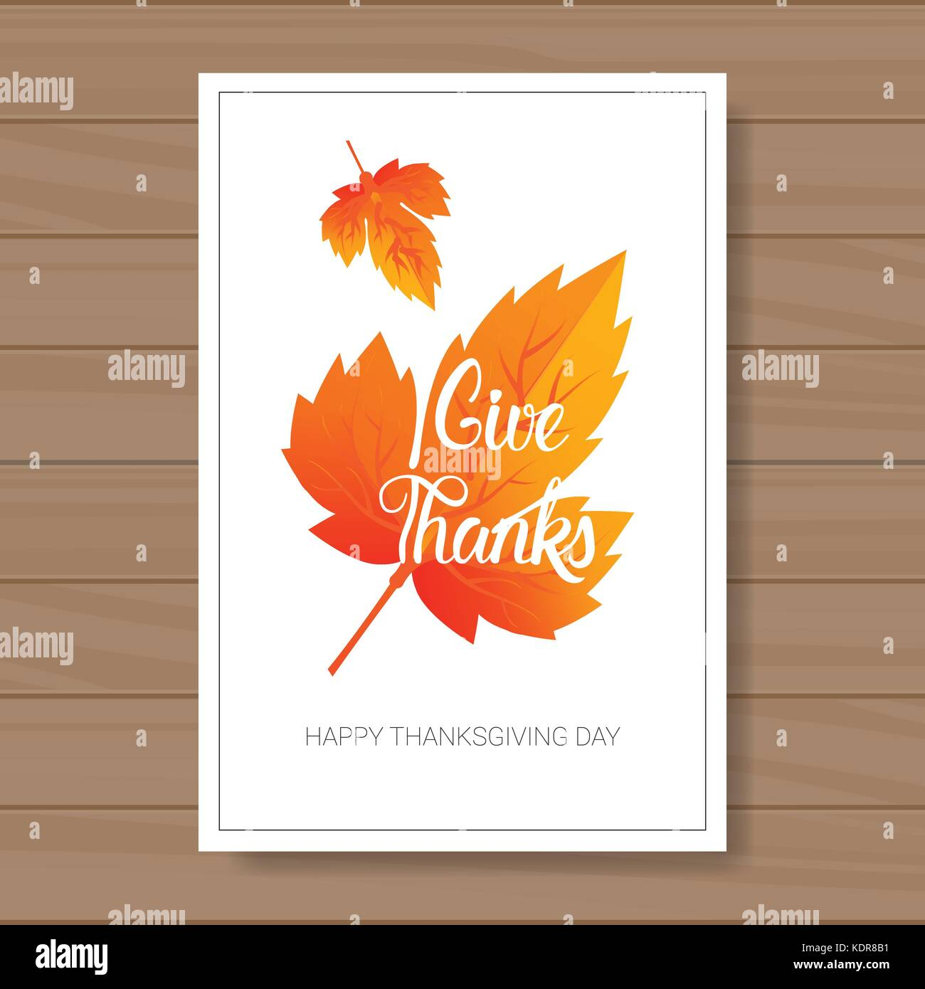 Happy Thanksgiving Day Logo Autumn Traditional Harvest Holiday Stock