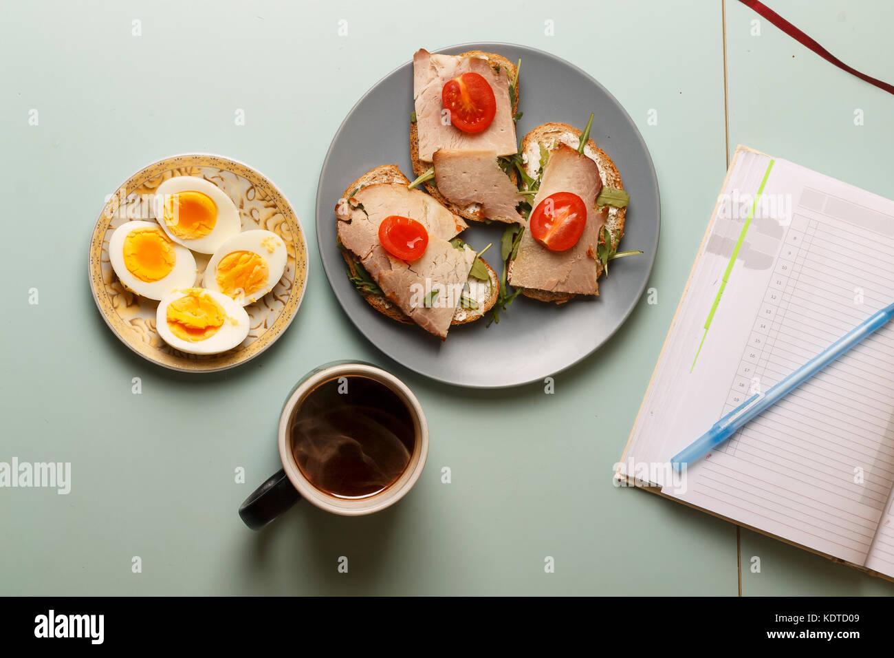 recipe: ham for breakfast healthy [39]