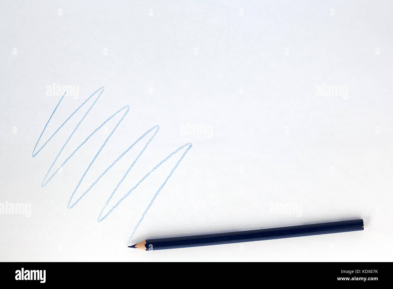 Drawing Lines With Pencil : Crayon lines stock photos images alamy
