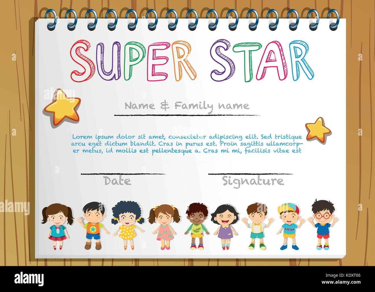 Gold star certificate template image collections templates name a star certificate template choice image templates example gold star certificate template choice image templates yelopaper Gallery