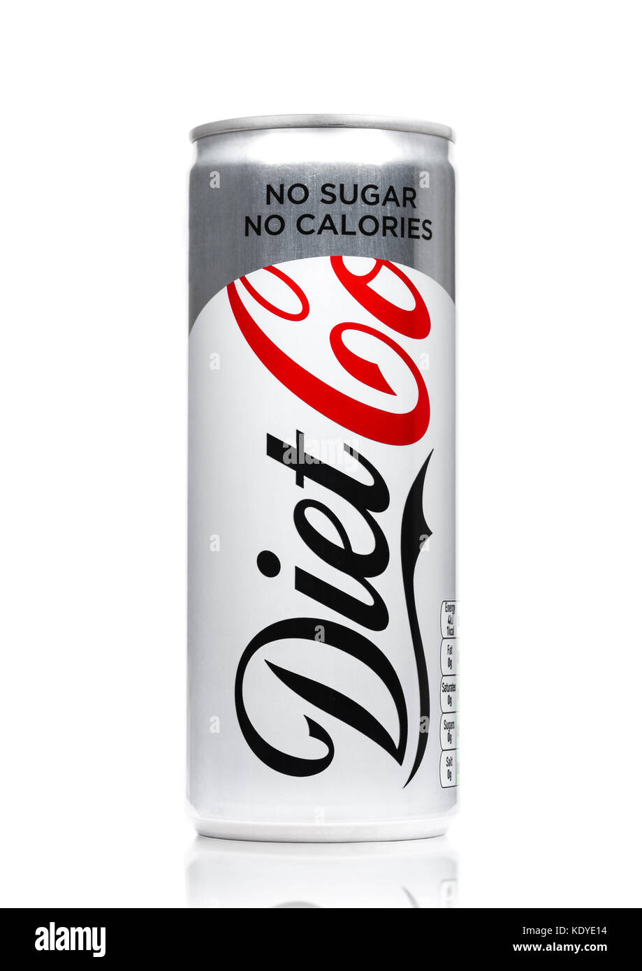 Diet Coke Can White Stock Photos & Diet Coke Can White ...