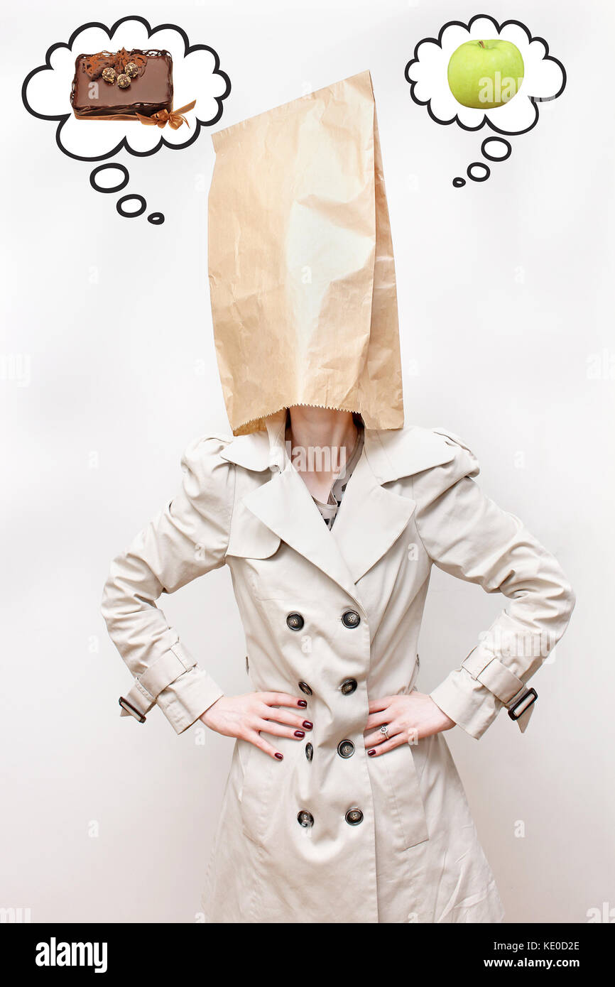 Paper bag over girls head porn