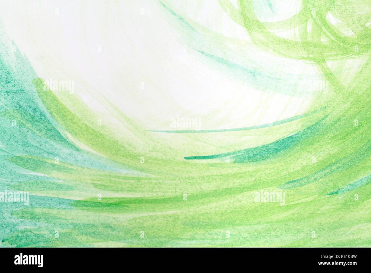 Green Creative Abstract Hand Painted Background Wallpaper