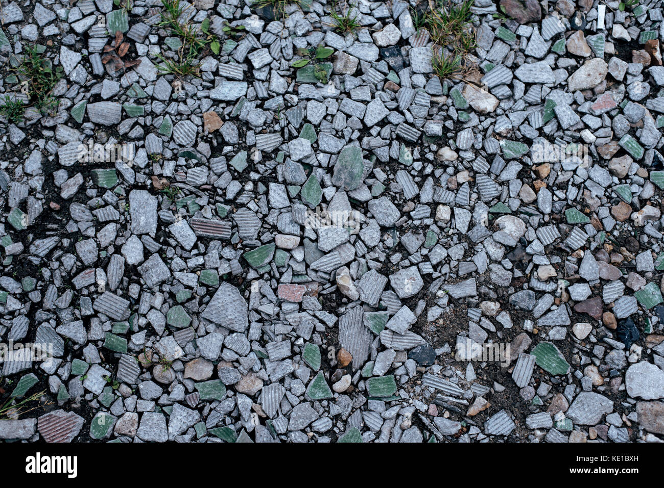Form And Texture : Stones on ground background and texture form with a rocky