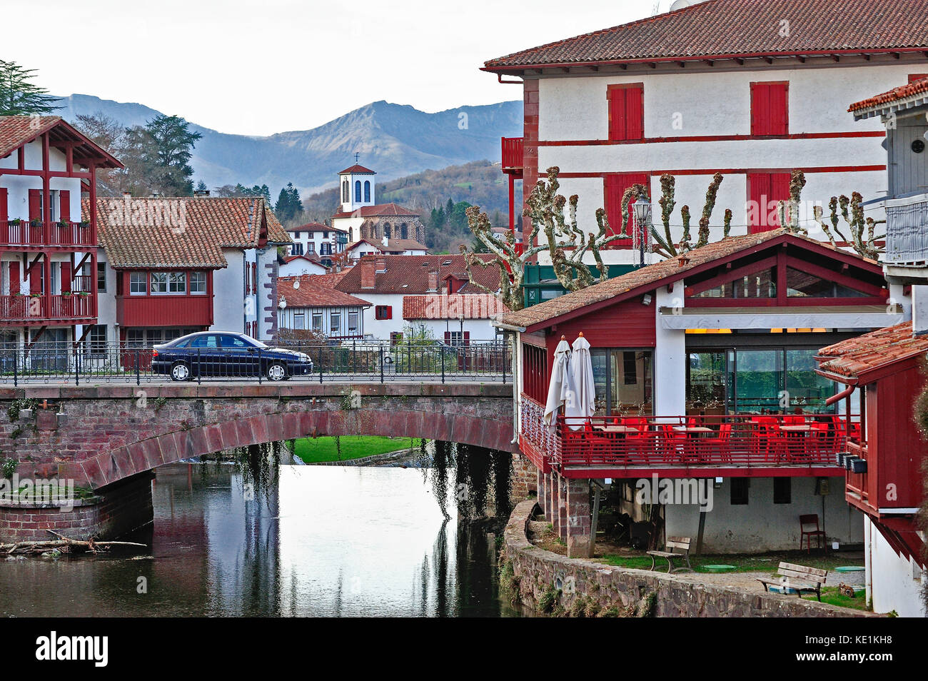 Saint jean pied de port stock photos saint jean pied de port stock images alamy - Hotel saint jean pied de port des pyrenees ...