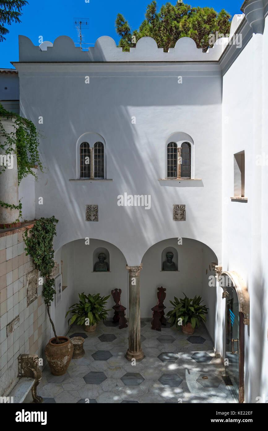 Villa san michele capri stock photos villa san michele for Capri villa