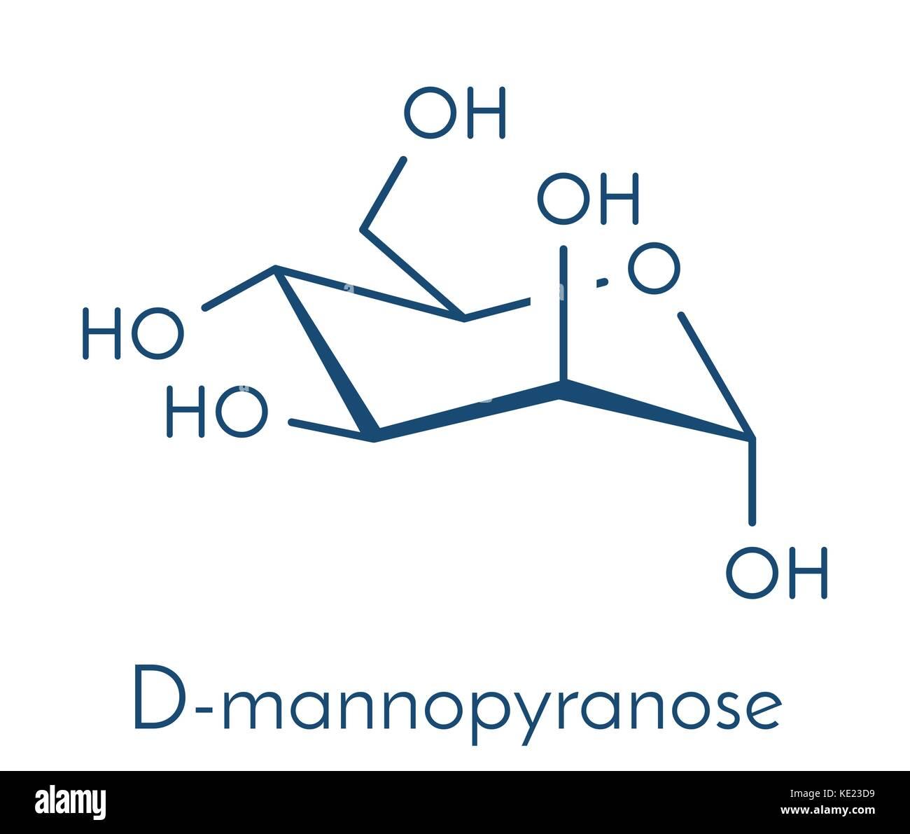 Mannose d mannose sugar molecule epimer of glucose skeletal mannose d mannose sugar molecule epimer of glucose skeletal formula biocorpaavc Images