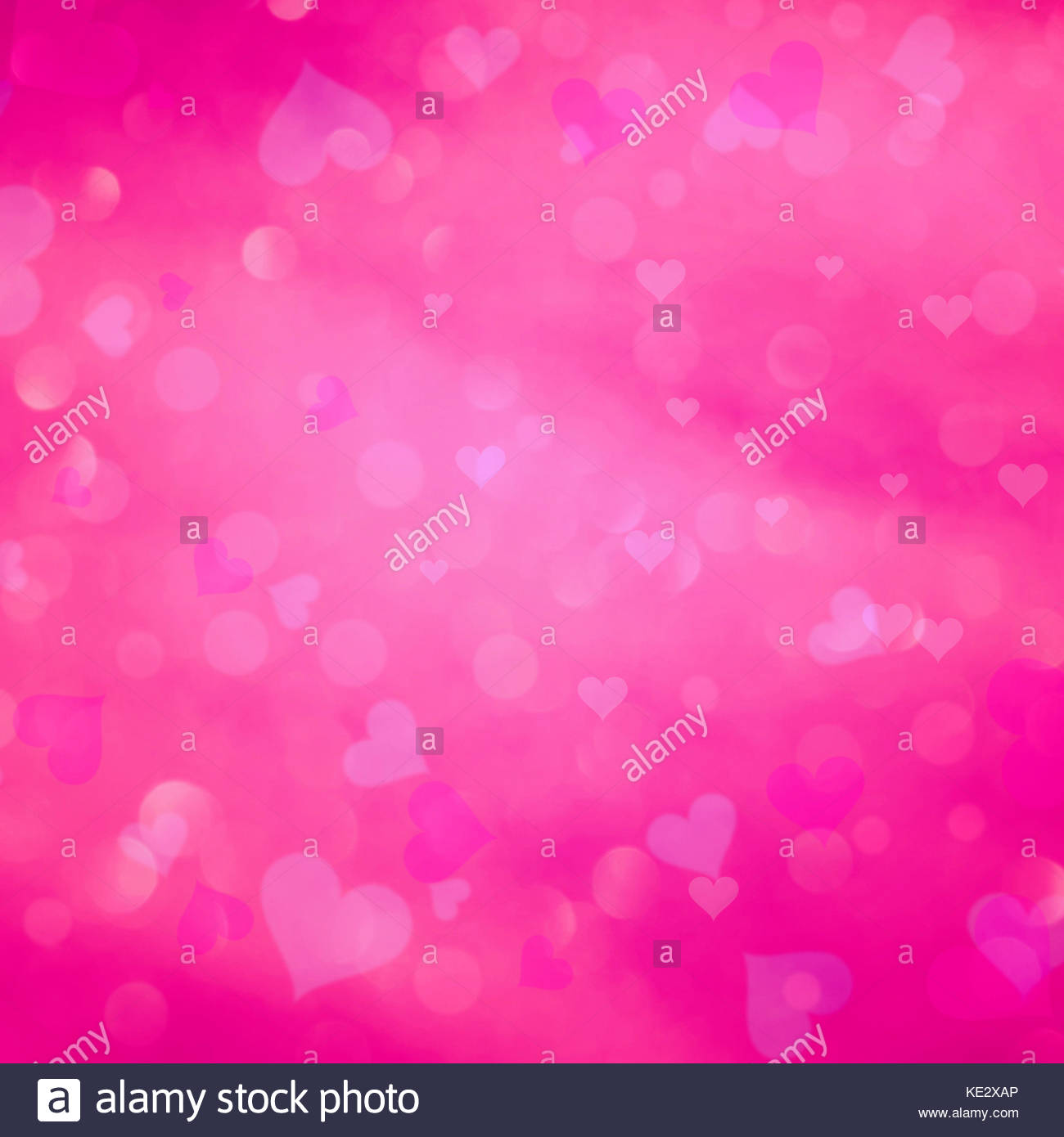 Purple heart xmas stock photos purple heart xmas stock images pink color abstract blurred bokeh with love heart symbol illustration stock image buycottarizona