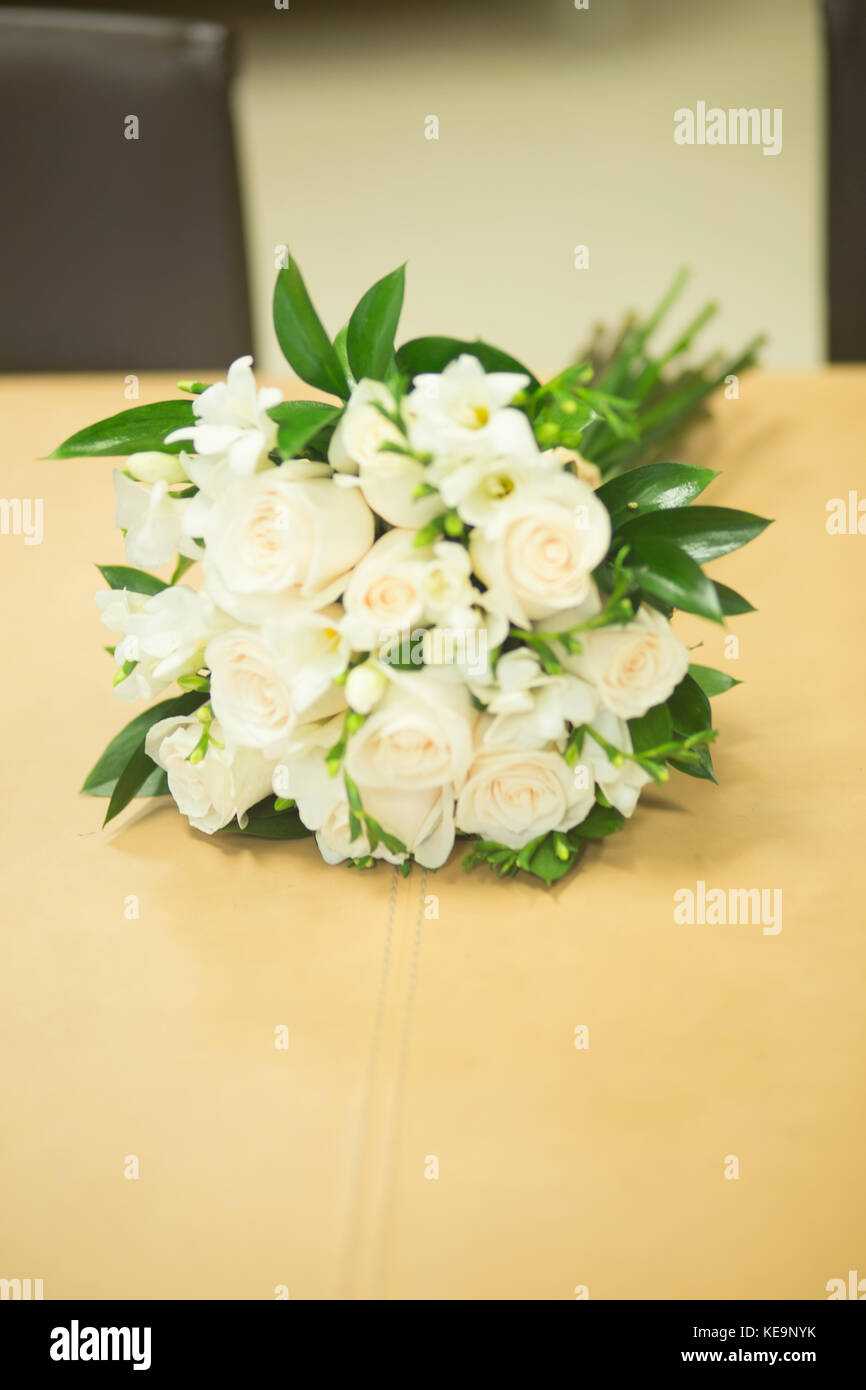 Civil Non Religious Wedding Ceremony Registry Office Bridal Bouquet