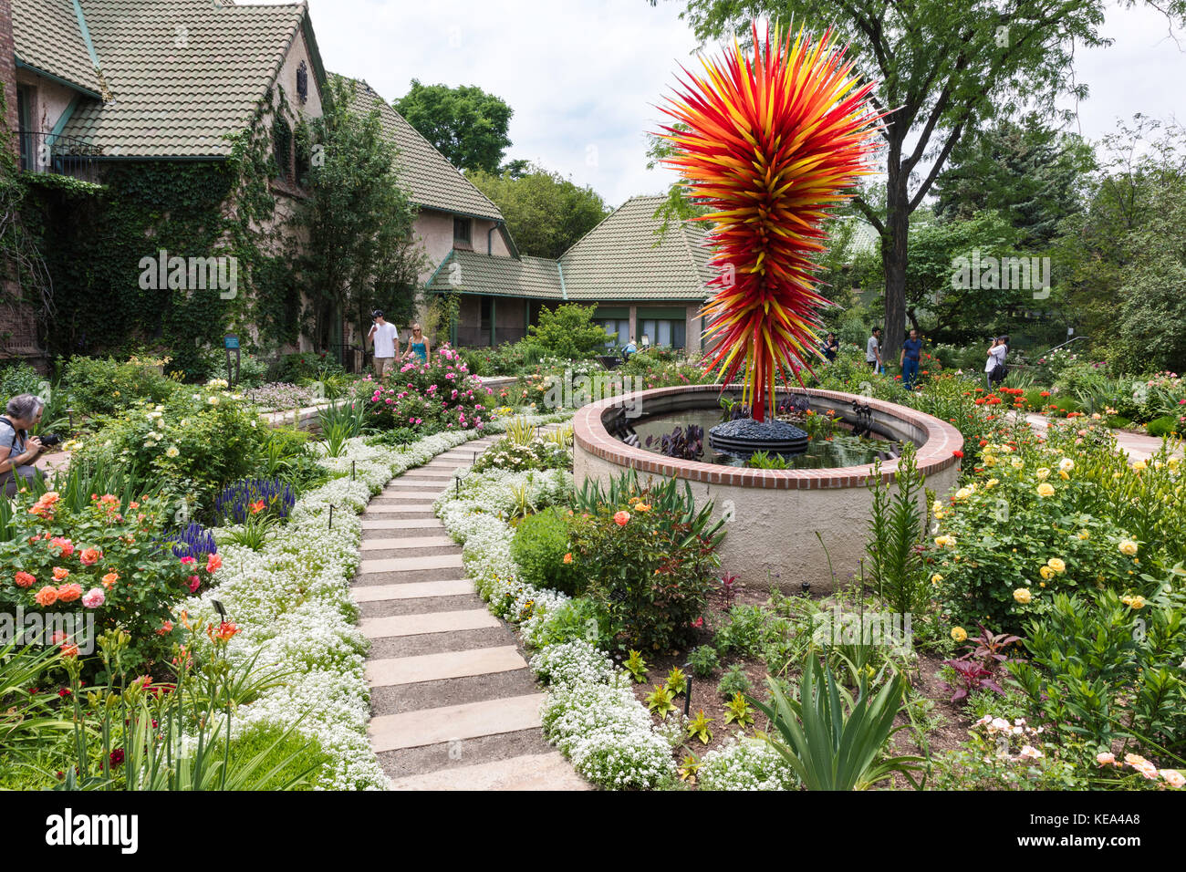 Denver Botanic Gardens Stock Photos Denver Botanic