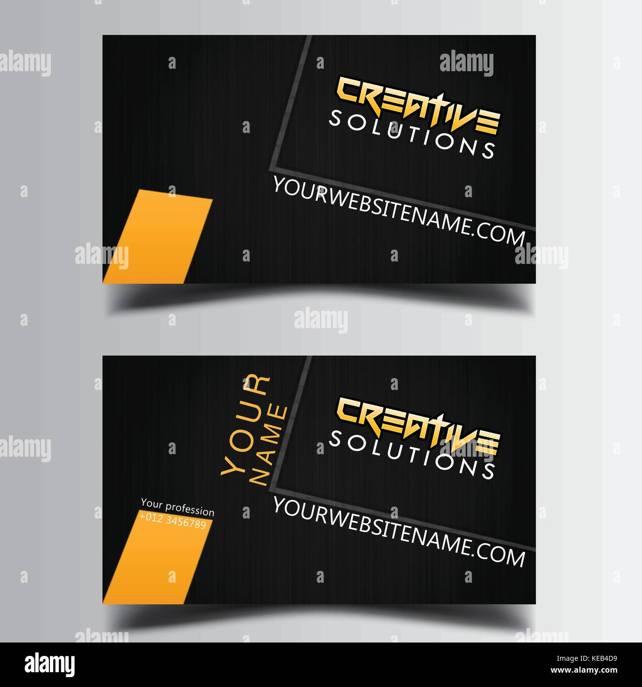 Smart Business card printable and editable Stock Vector Art ...