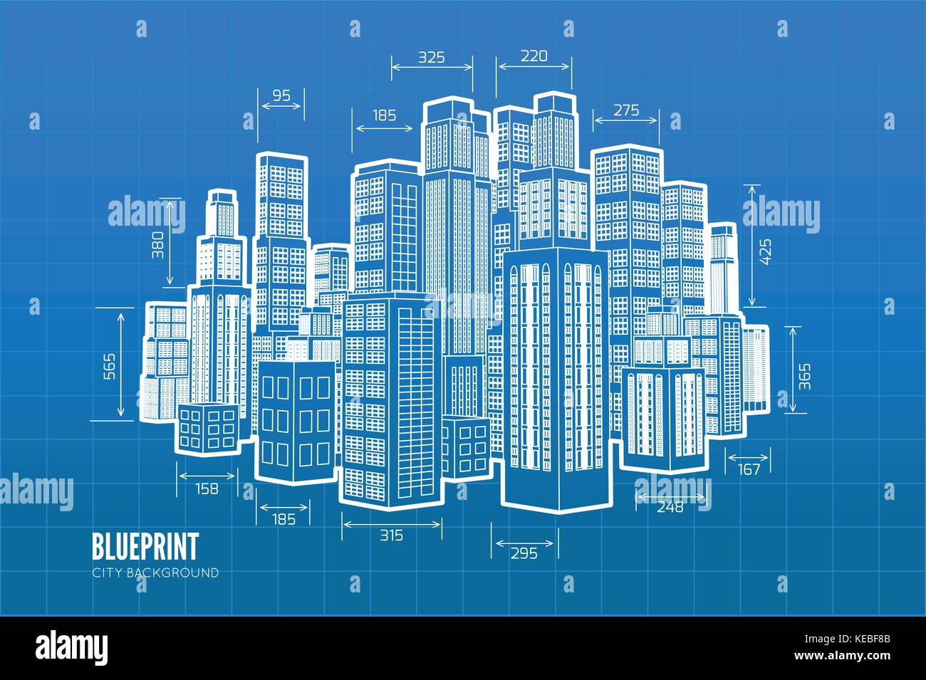 Building wireframe 3d render city vector blueprint illustration 3d render city vector blueprint illustration malvernweather Gallery
