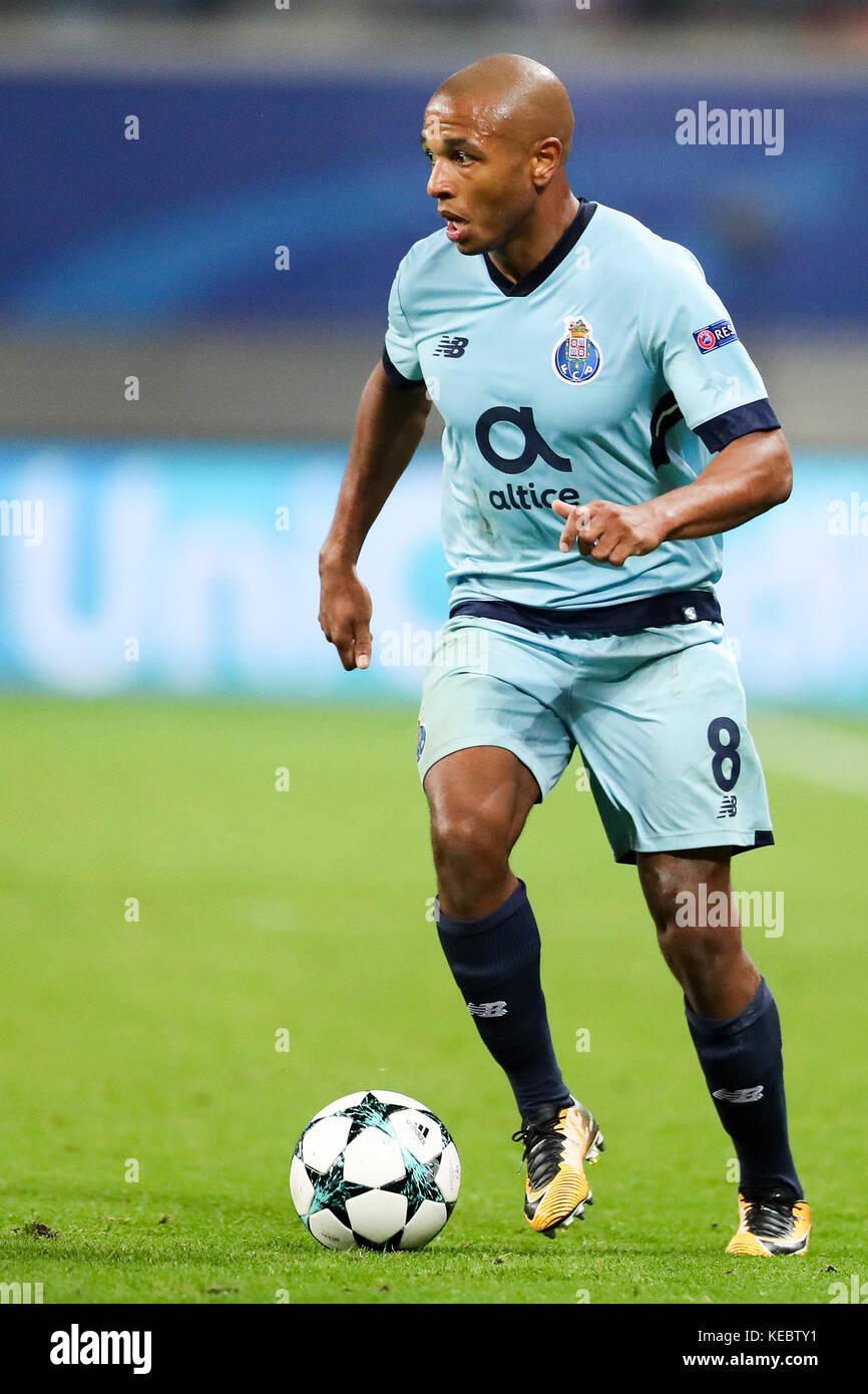Leipzig Germany 17th Oct 2017 Porto s Yacine Brahimi during