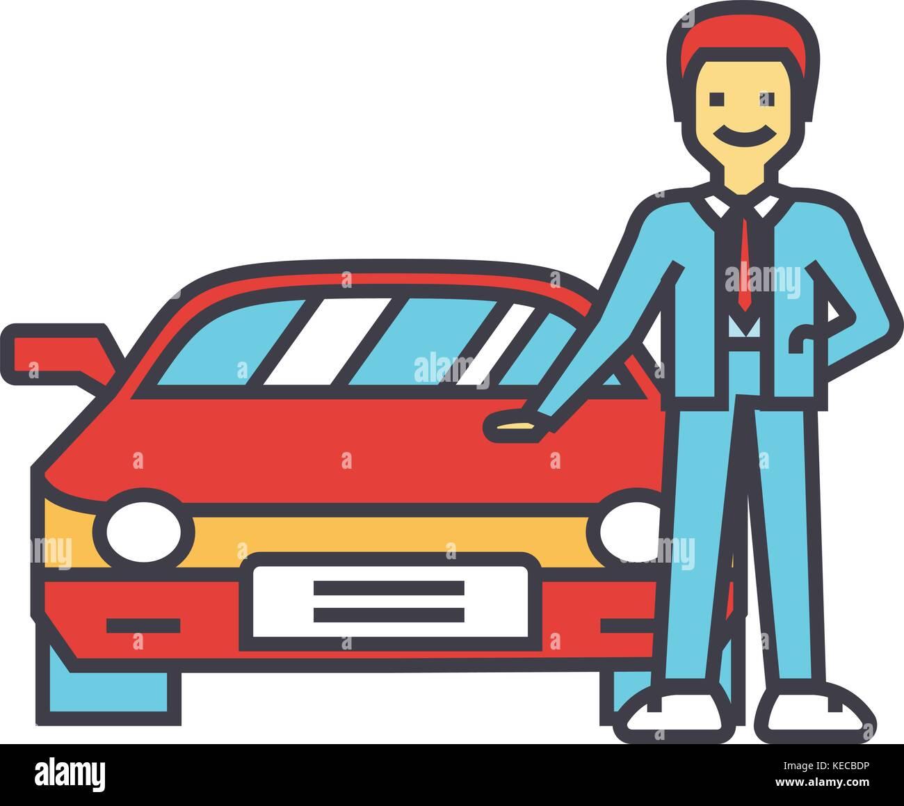 man buying new car auto dealer vehicle dealership automobile sale
