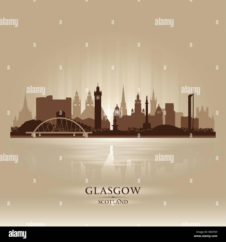 Glasgow vector vectors stock photos