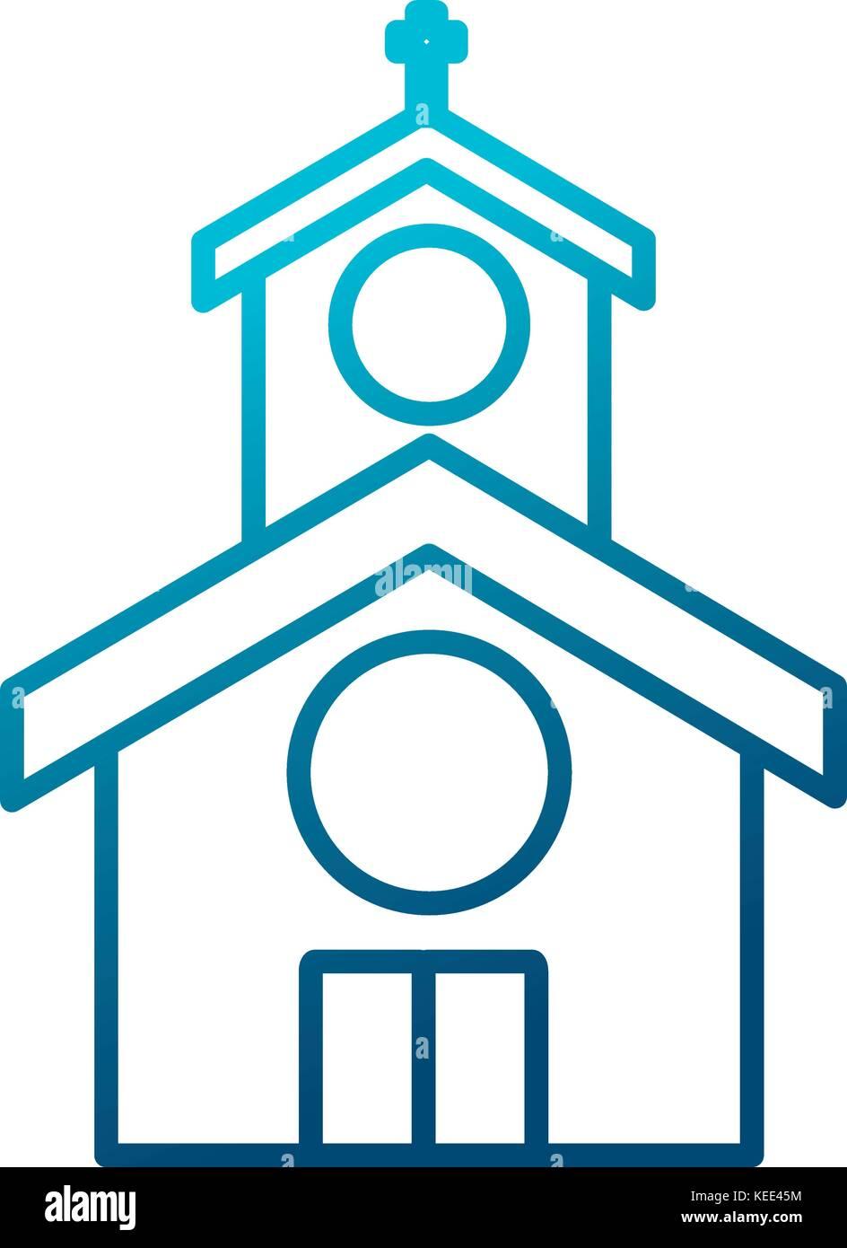 Church building symbol stock vector art illustration vector church building symbol biocorpaavc Image collections