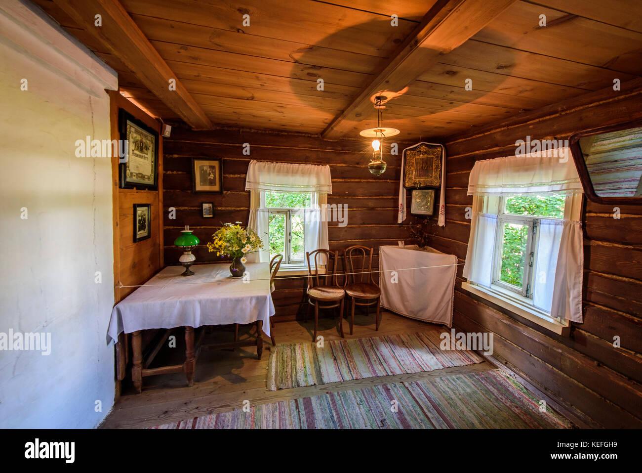 Village Konstantinovo, Ryazan region: excursions, house Yesenin 57