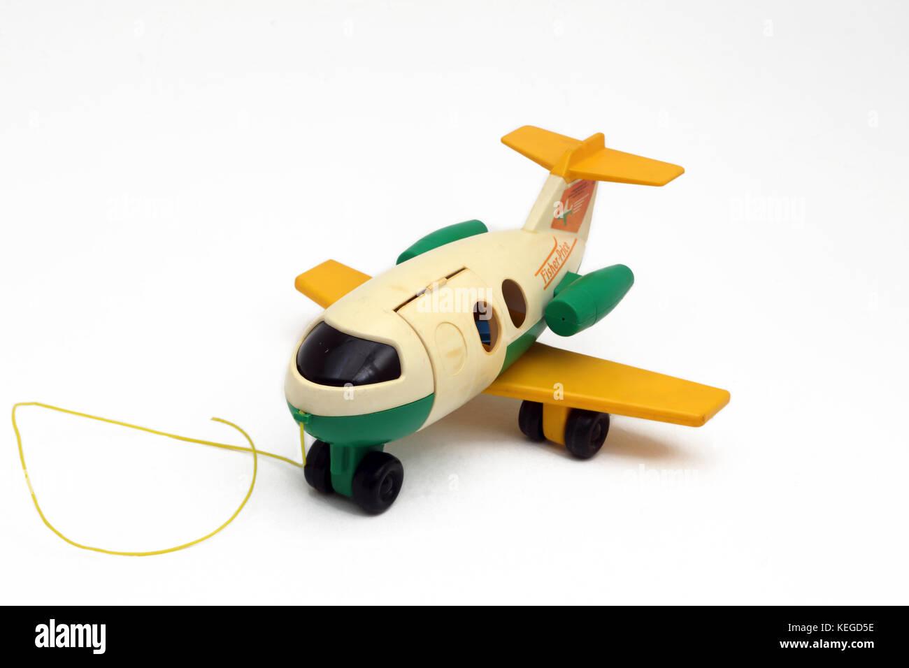 Fisher price stock photos fisher price stock images alamy vintage fisher price pull along aeroplane toy stock image buycottarizona