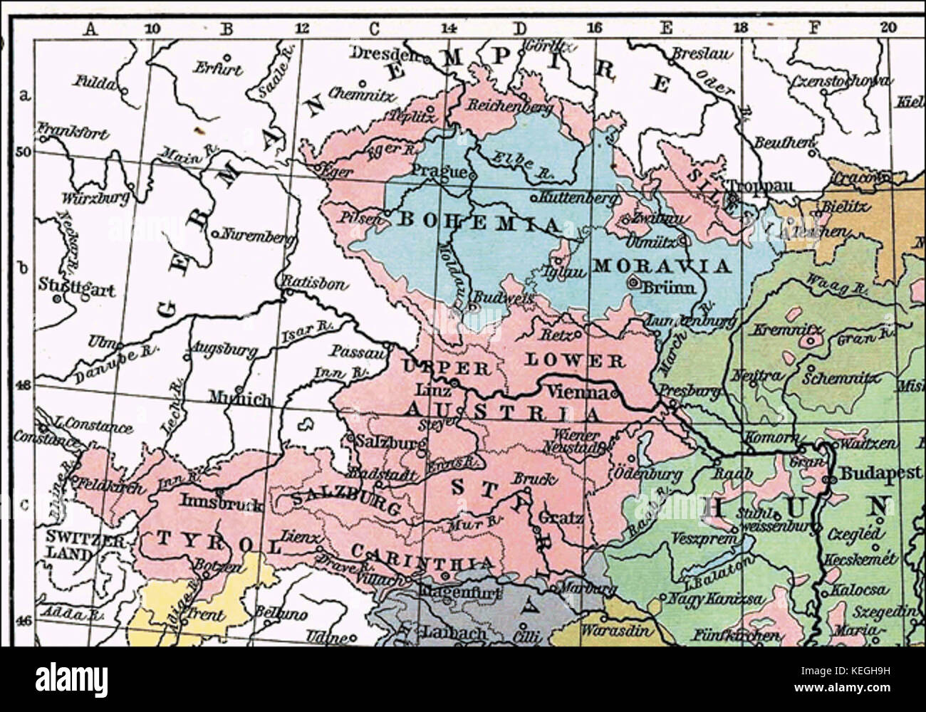 Austro Hungarian Empire Map Nebraska Time Zone Map Map Of Upstate - Map of austria hungary 1900 1907