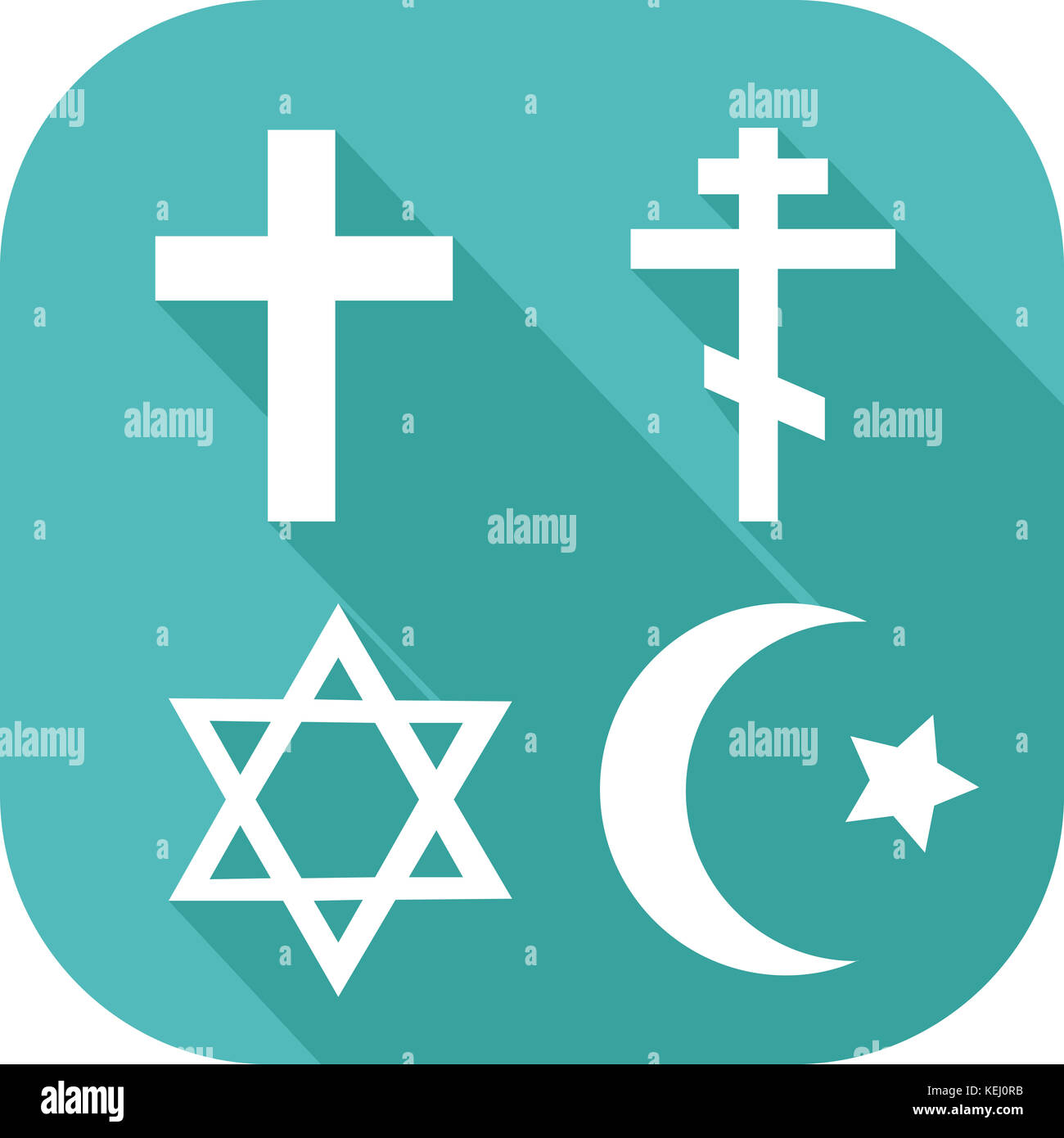 Different religion symbols stock photos different religion symbols icon of different religions stock image buycottarizona