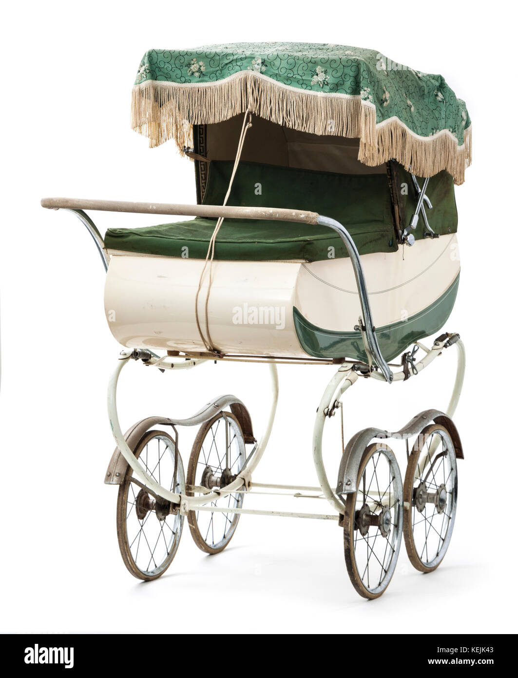 vintage early 1960 39 s restmor coach built carriage pram stock photo royalty free image. Black Bedroom Furniture Sets. Home Design Ideas