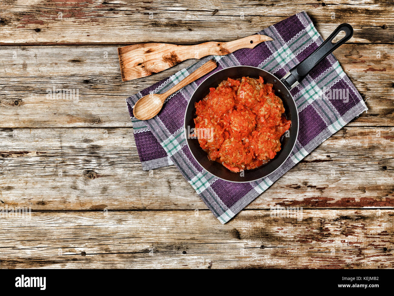 how to cook meatballs in frying pan
