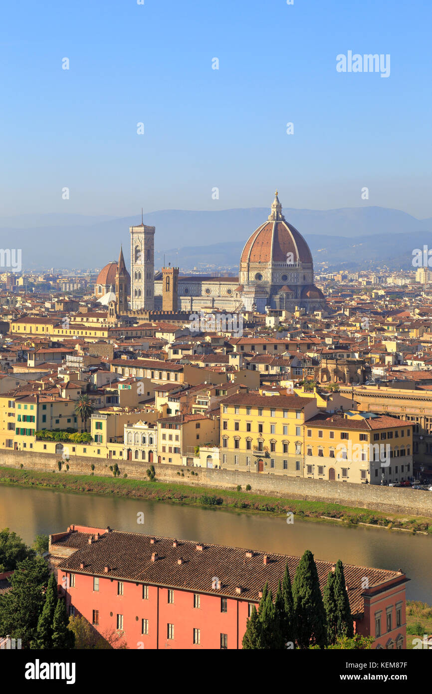 Florence and arno river cathedral stock photos florence for Is florence in tuscany