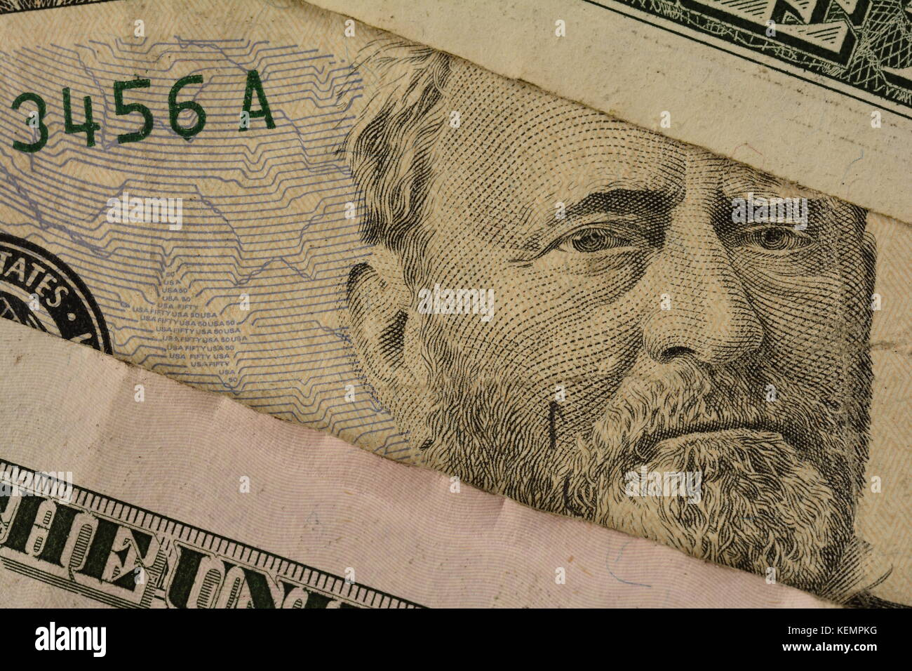 which president is on the fifty dollar bill