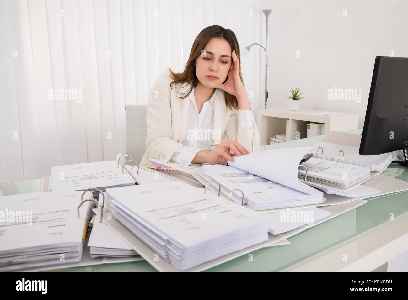 Woman accountant