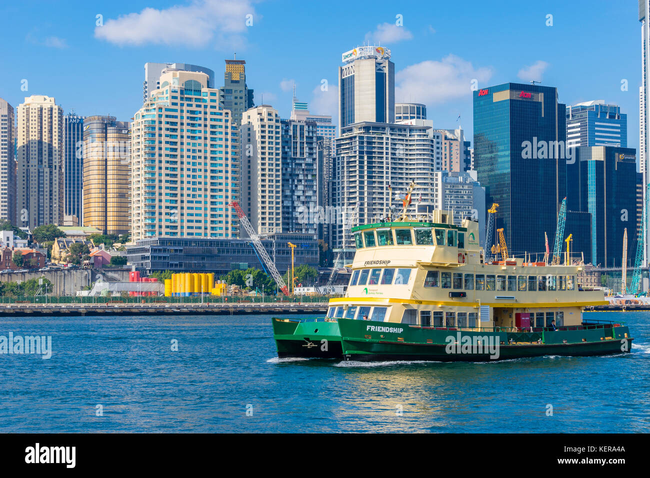 how to take ferry from manly to darling harbour