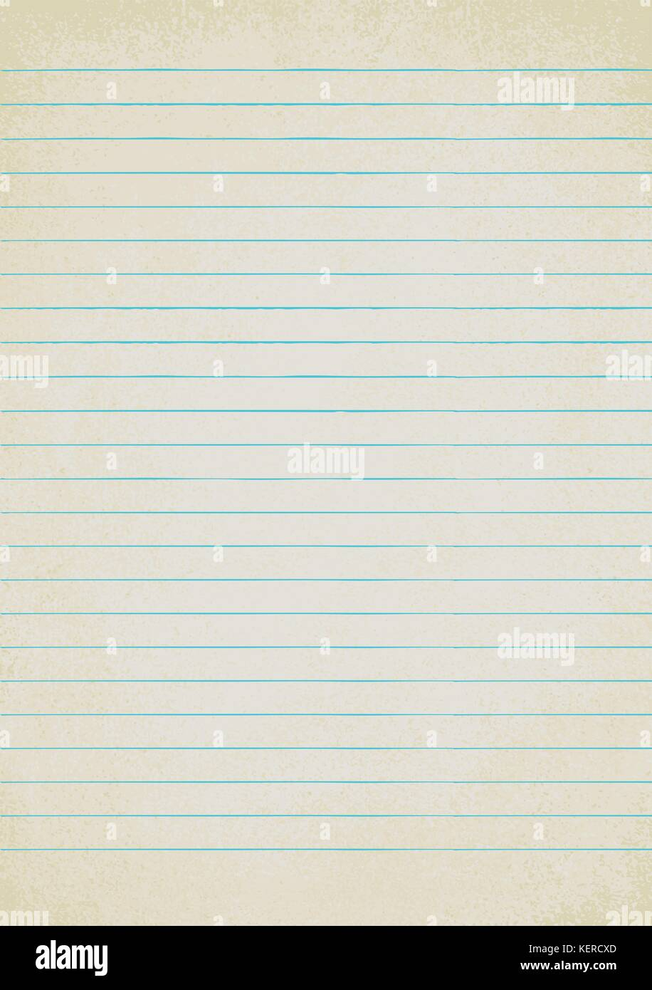 empty vintage lined paper sheet vector background stock vector art