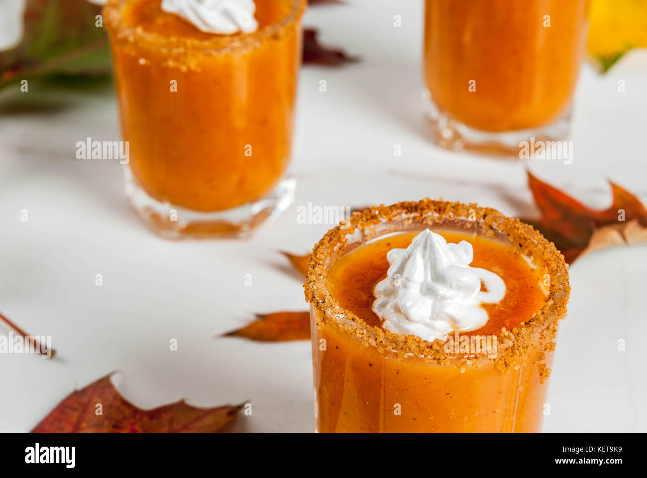 autumn drink. ideas and recipes for thanksgivings, halloween