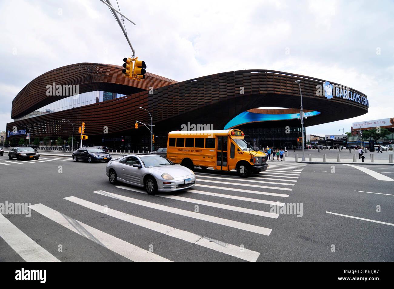 Barclays center new york stock photos barclays center for The barclay