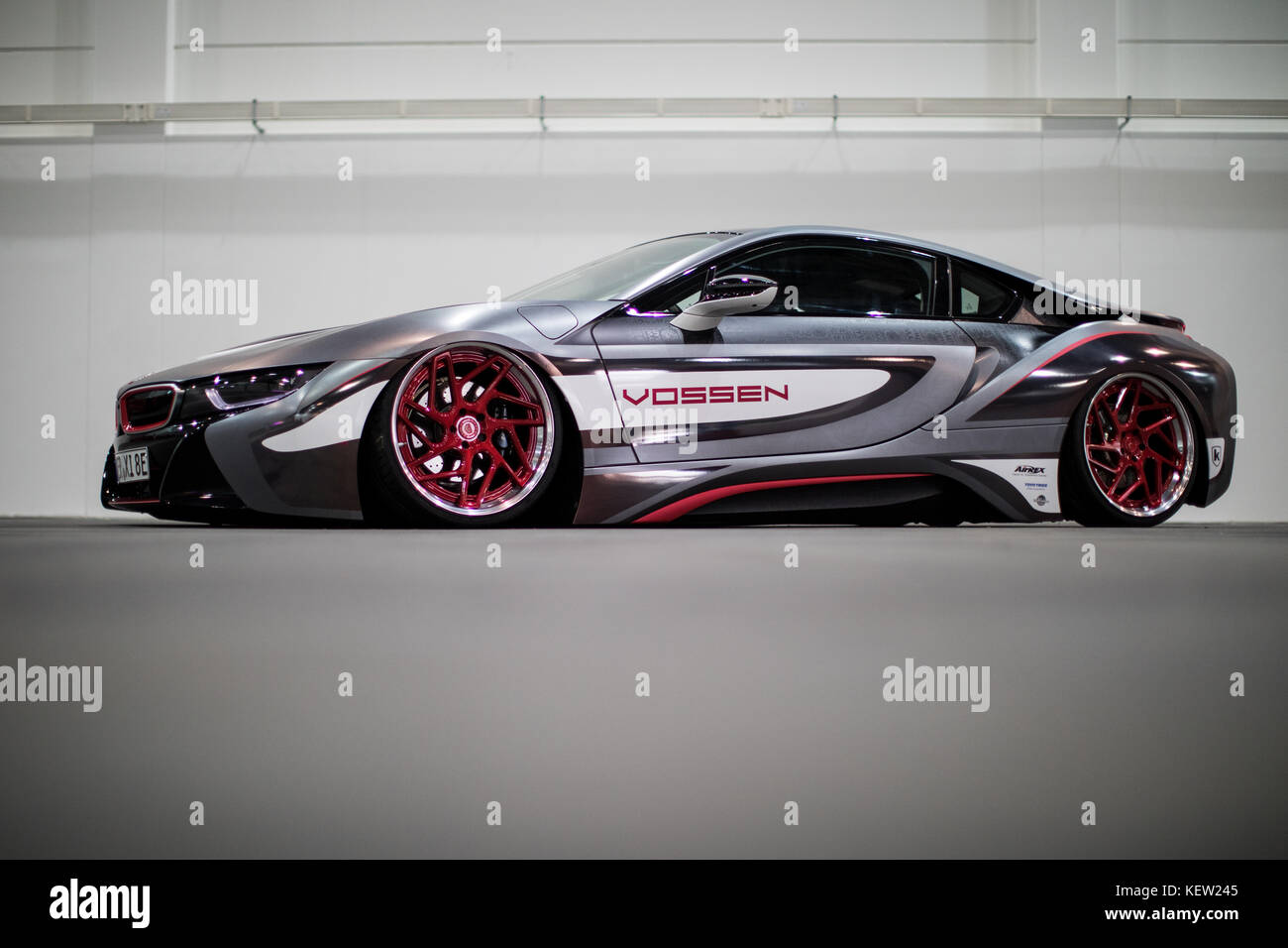 Essen Germany 23rd Oct 2017 A Tuned Bmw I8 Can Be Seen Under