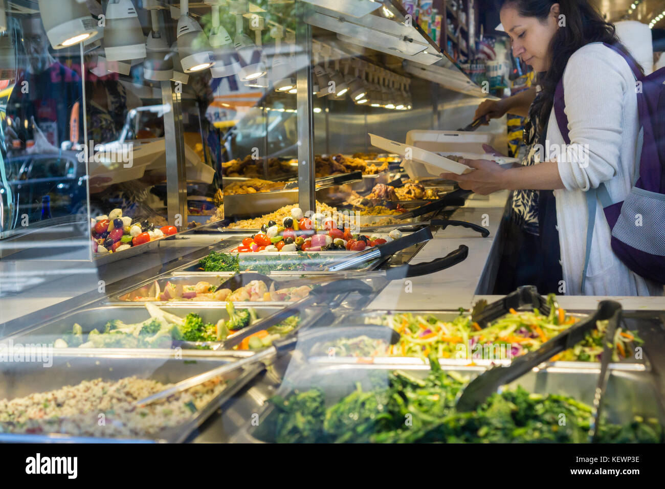 Self Service Restaurant Stock Photos Self Service Restaurant  # Buffet Blanc Style New York