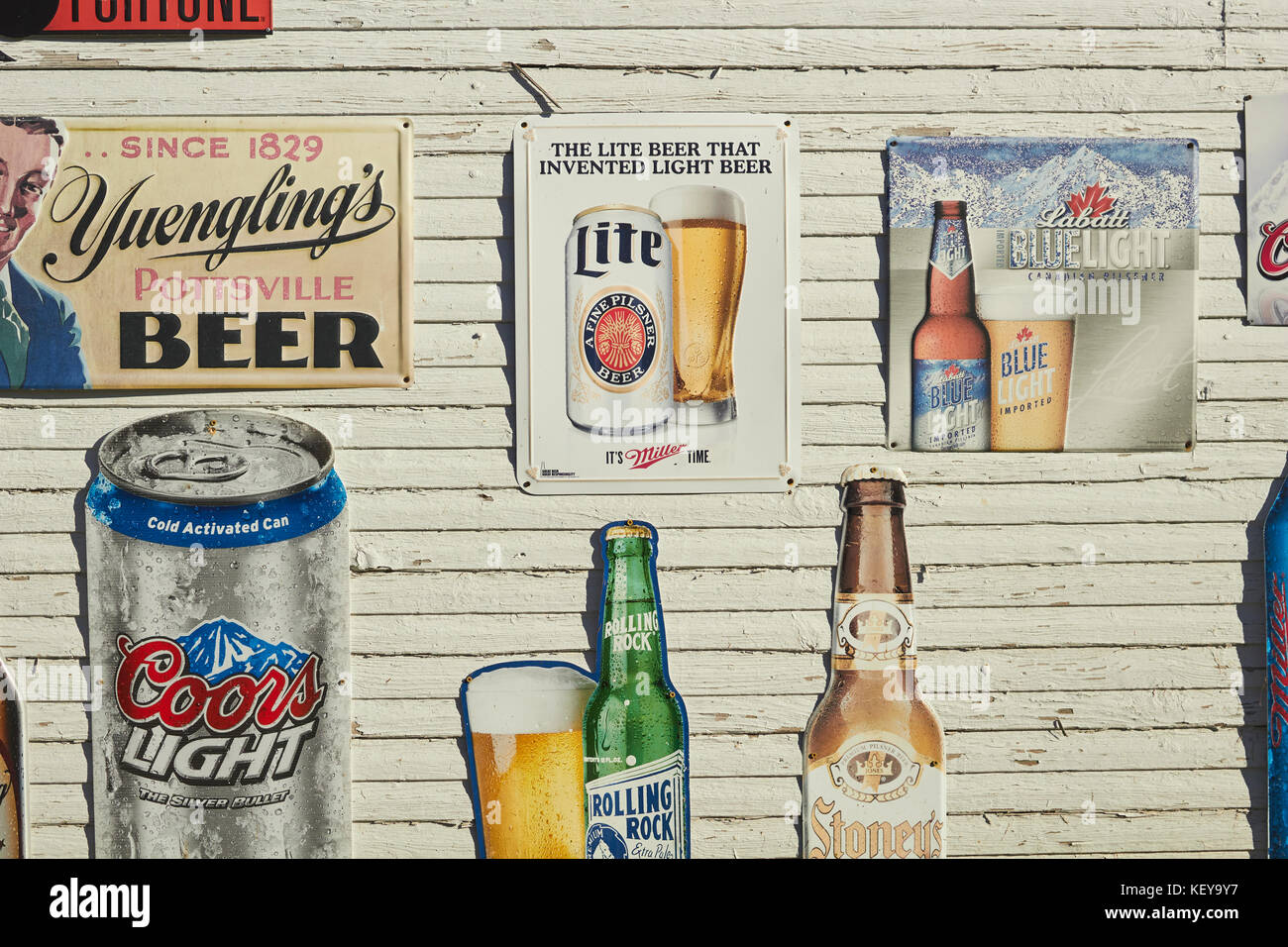 Beer signs stock photos beer signs stock images alamy for Cabine vicino a ohiopyle pa