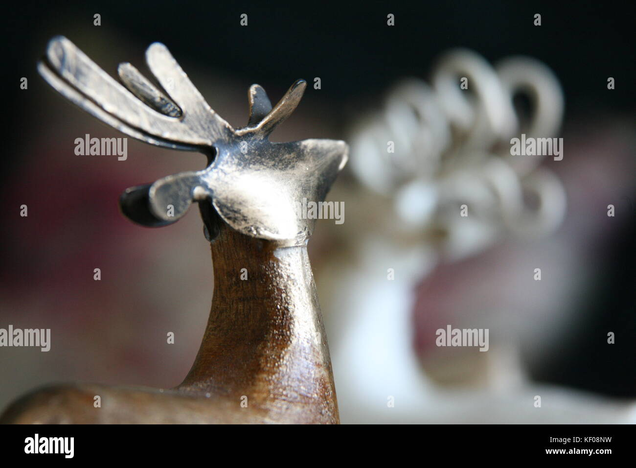 Seasons greetings stock photos seasons greetings stock images alamy seasons greetings christmas reindeer stock image kristyandbryce Images