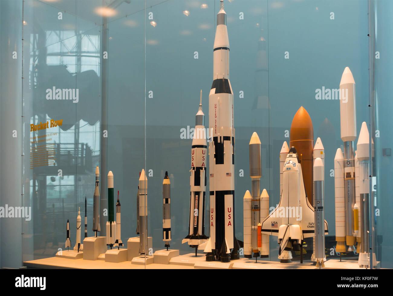 Rockets At Nasa Space Museum Stock Photos & Rockets At ...