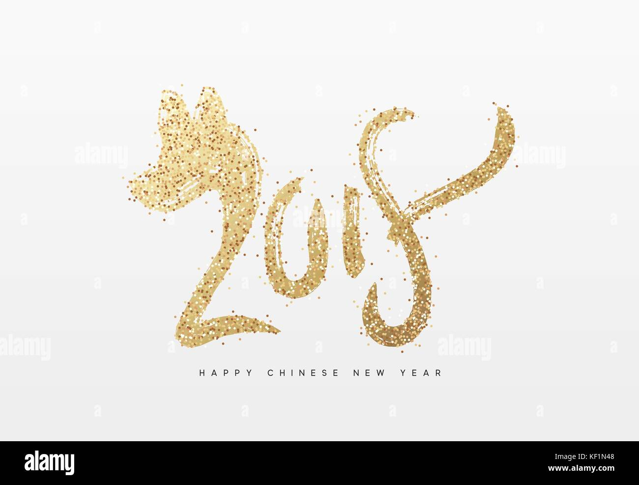 2018 happy new year year of dog the chinese zodiac