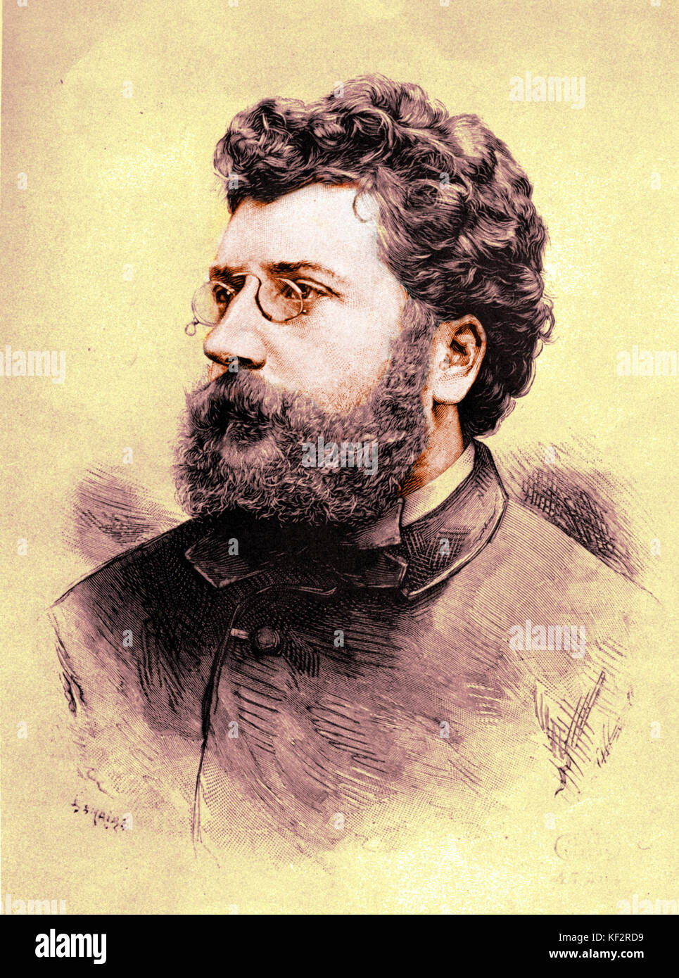 a biography of georges bizet a french composer Like many music-lovers, i regard bizet as the greatest opera composer who ever lived, behind mozart, and the greatest french composer who ever lived, behind no one the fact that i didn't know.