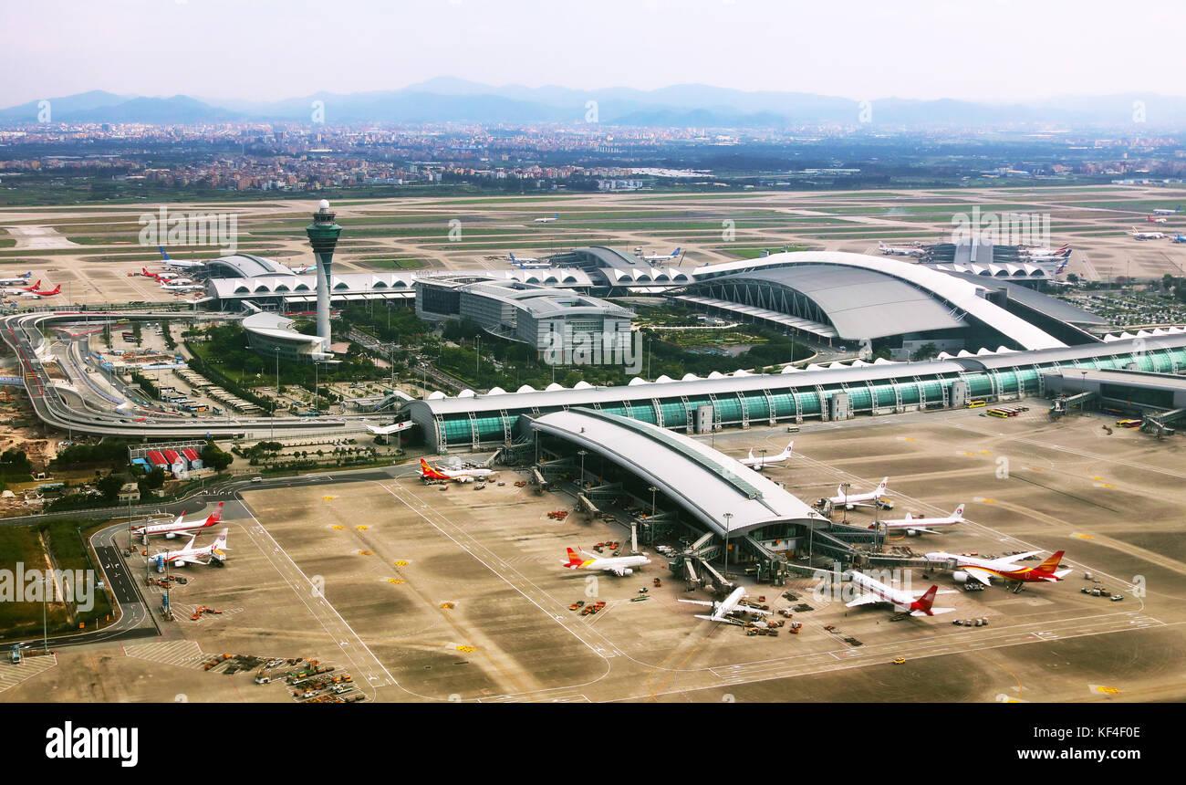 Aeroporto Guangzhou Arrive : Guangzhou baiyun airport guangdong province china stock photo