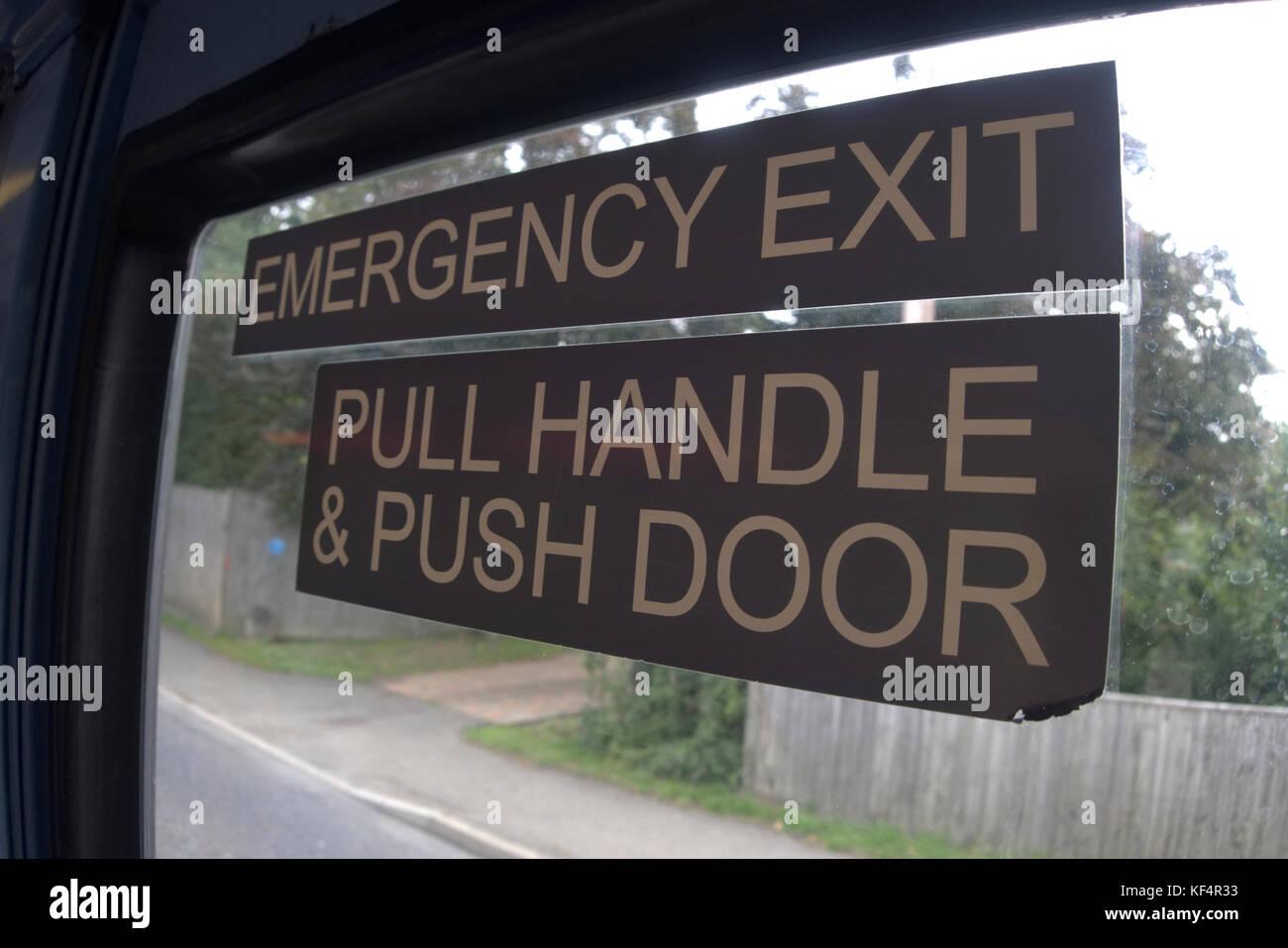 Bus Emergency Door Stock Photos Amp Bus Emergency Door Stock